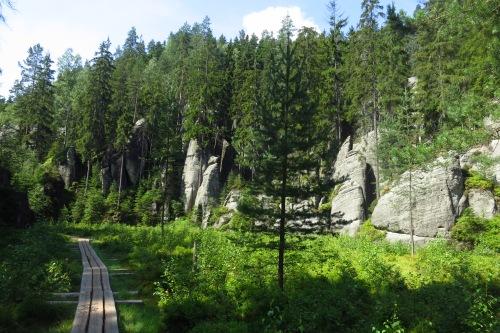 In Wolf Gorge