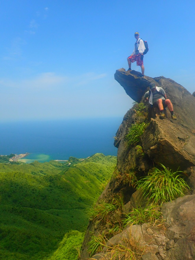 On the Stegasaurus Ridge, New Taipei City