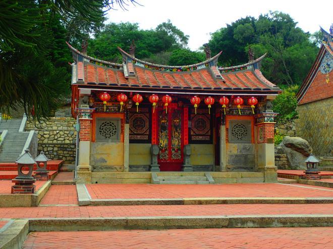 Ancestral Shrine at Shuitou, Kinmen island