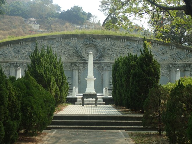The beautiful Wuluanqi Cemetery  in Taiping, Taichung City
