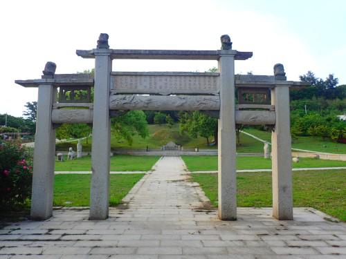 Tomb of Ciou Liang-Gong , Kinmen