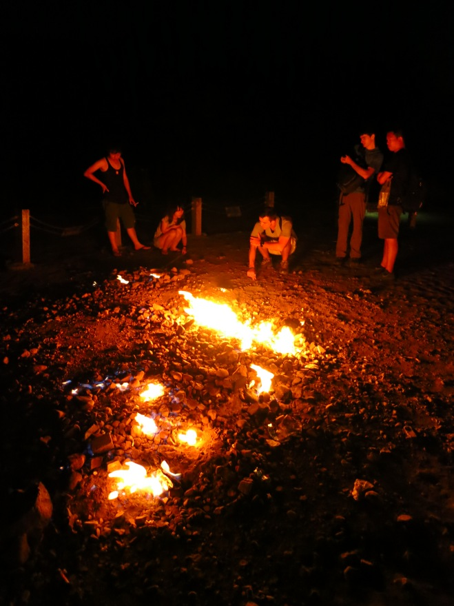 Chuhuo natural eternal flame, Pingdong County
