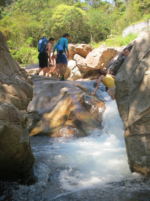 River Tracing at Jiaoxi, Yilan County