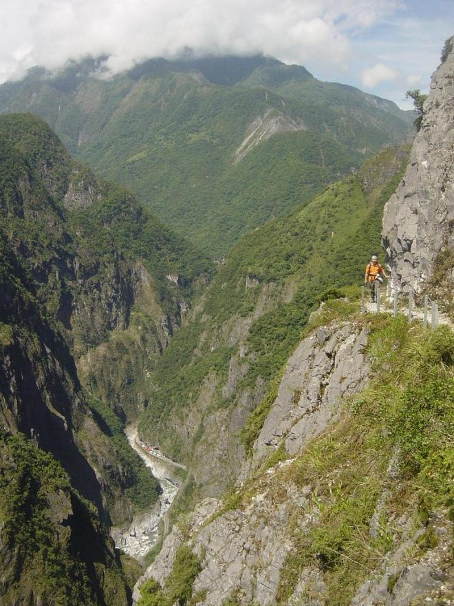 The amazing Zhuilu Old Trail, Taroko Gorge, Hualien County