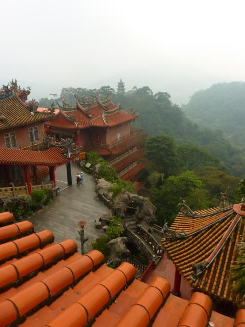 Temples at Shitoushan, Miaoli County
