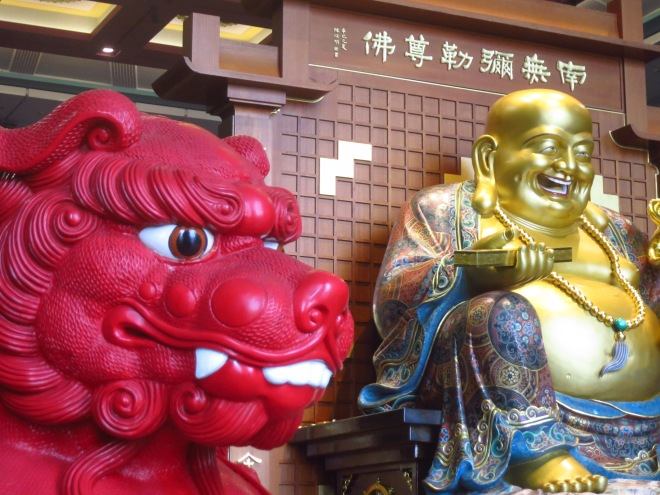 In Chung Tai Chan Temple, Nantou County