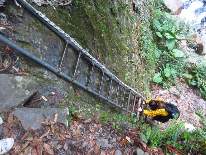 Way down to the wonderful natural Xinxing Hot Springs, Yilan County