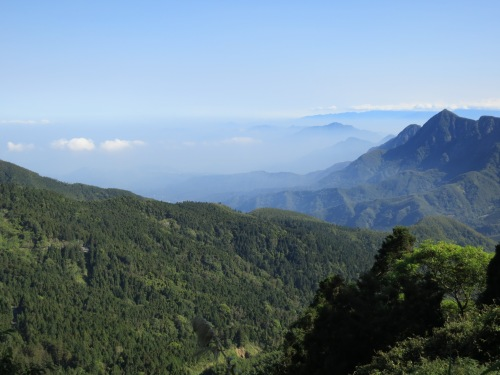 View en route to Shanlinxi, Nantou County