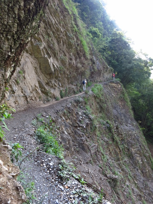 The thrilling Batongguan Historic Trail, a Japanese-built route from Nantou to Hualien County