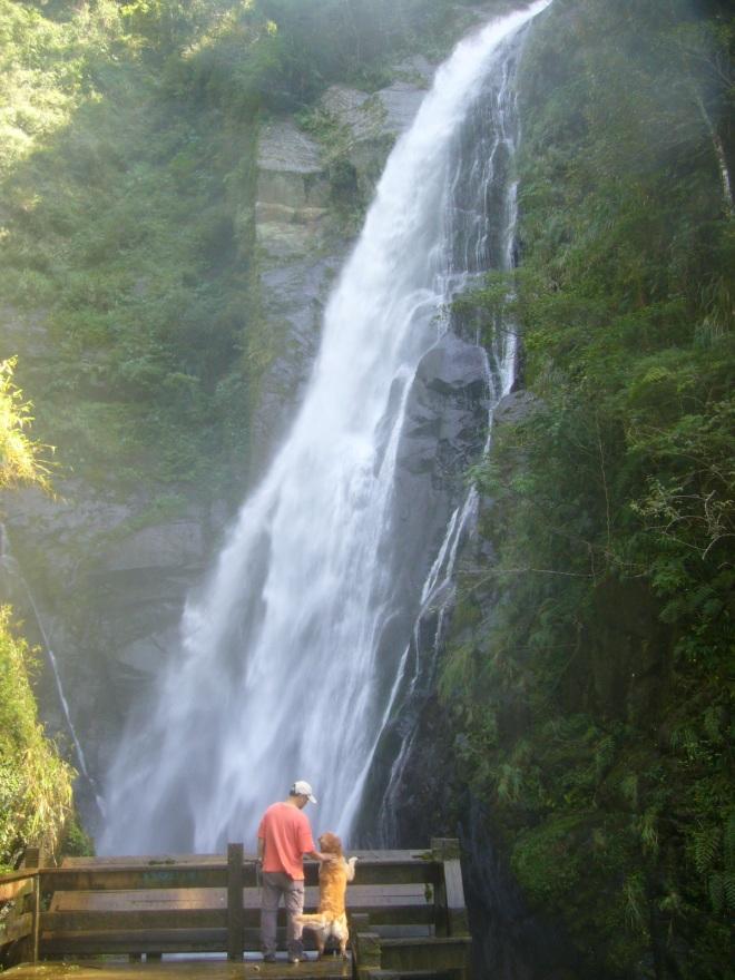 Maliguang Waterfall, route 60, Hsinchu County