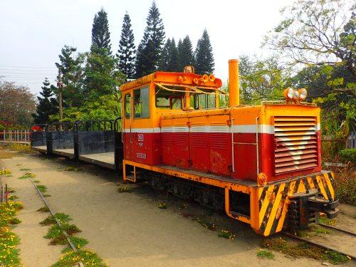 Sugar train at Qiaotou Sugar Factory, Kaohsiung City