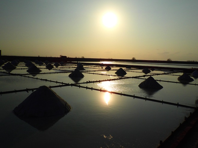 Salt fields in Tainan City