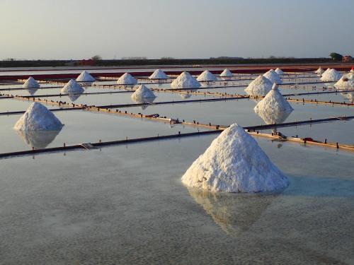 Salt fields at Jingzaijiao, Tainan County