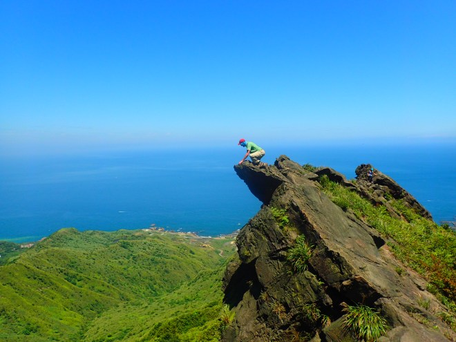 The Buddha's Tongue, Stegosaurus Ridge, New Taipei City