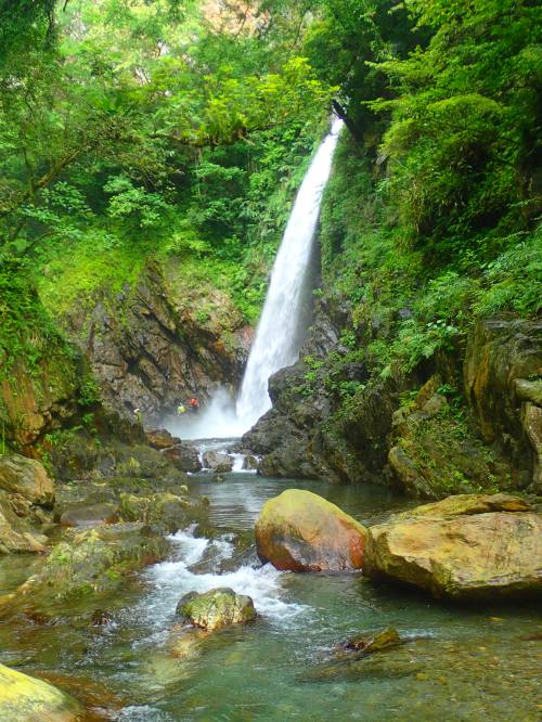 Jinyue Waterfall, Yilan County