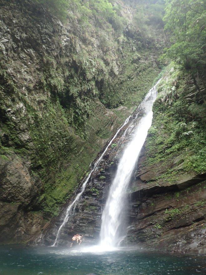 Aohua Waterfall, Yilan County