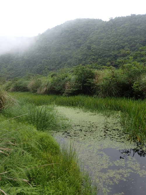 The remote Mysterious Lake, Yilan County