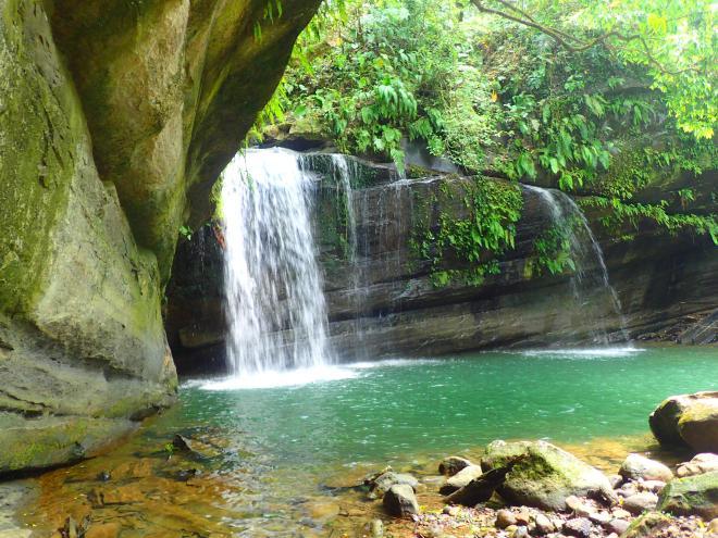 Wanggu Waterfall, Shifen, New Taipei City