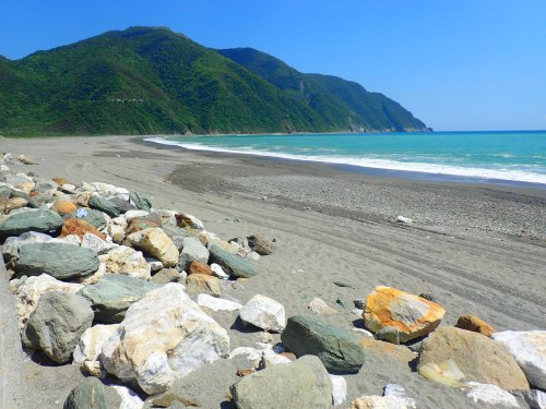 Beach at Fenniaolin, Yilan County