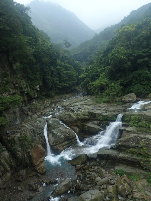 Shenxian Gorge, dwelling place of Atayal aboriginal ancestors, Miaoli County