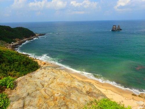 The Candleholder Rocks, Jinshan