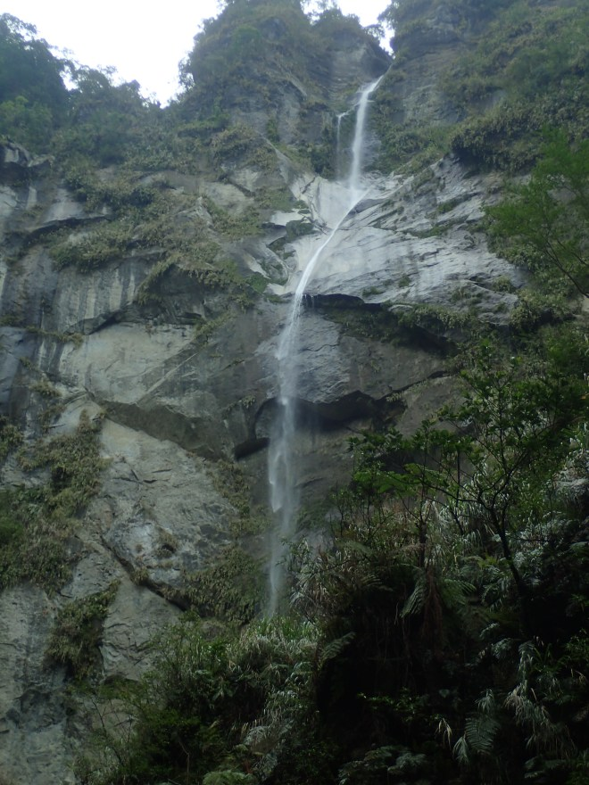 Xingang Waterfall, the highest waterfall in eastern Taiwan at nearly 200 meters