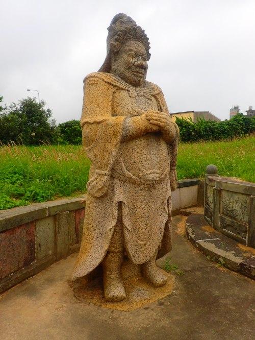Guardian at the Zheng Chong-he Tomb , Miaoli County