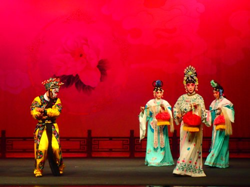 Chinese opera at Taipei Eye, Taipei City