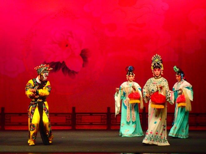 Chinese opera at Taipei Eye, Taipei City