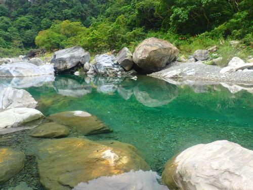 The Qingshui Stream at Mugumuyu, Hualien County