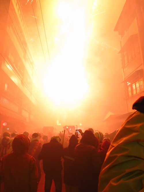 Yanshui Beehive Fireworks Festival, Taiwan's most extreme traditional event, Tainan