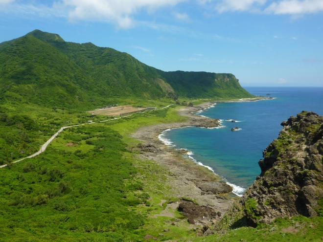 View from Nipple Hill, Lanyu