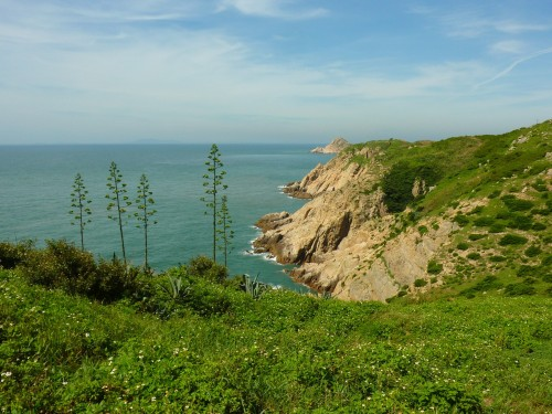 The east coast of tiny Dongju island, Matsu has some of the ROC's finest coastal landscapes
