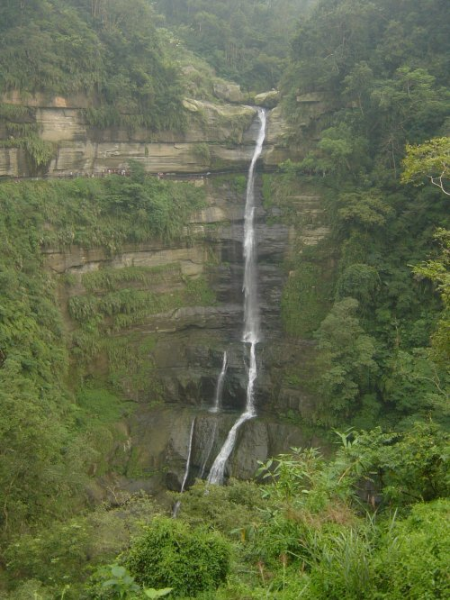 Longgong Waterfall, Chiayi County