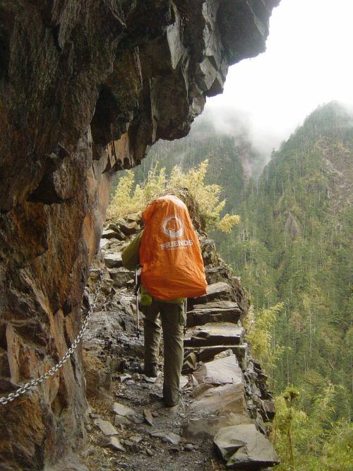 On the trail to Yushan, northeast Asia's highest mountain