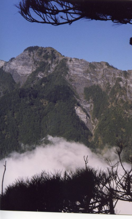Yushan (Jade Mountain) the highest mountain in Taiwan, yet one of its easiest high mountains to climb