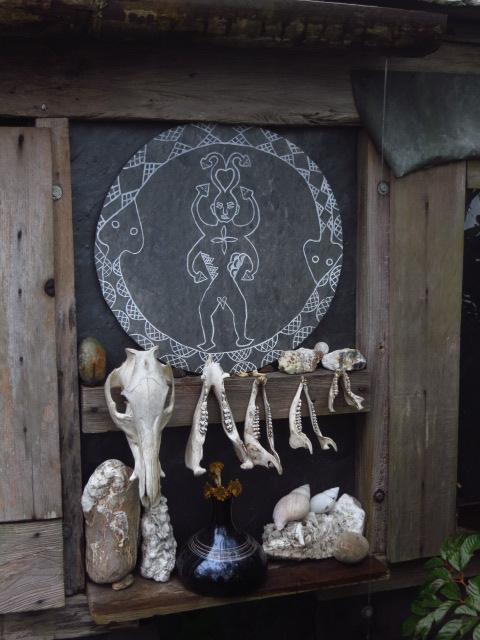 Aboriginal art at remote Jiuhaocha village, Pingtung County