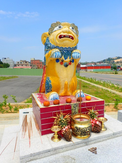 Fengshiye statue on Kinmen