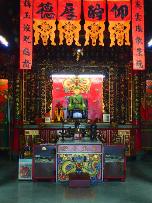General Temple Kinmen, surely the only temple in the ROC where the enshrined deity is a military figure who died (in battle) only a few decades ago.
