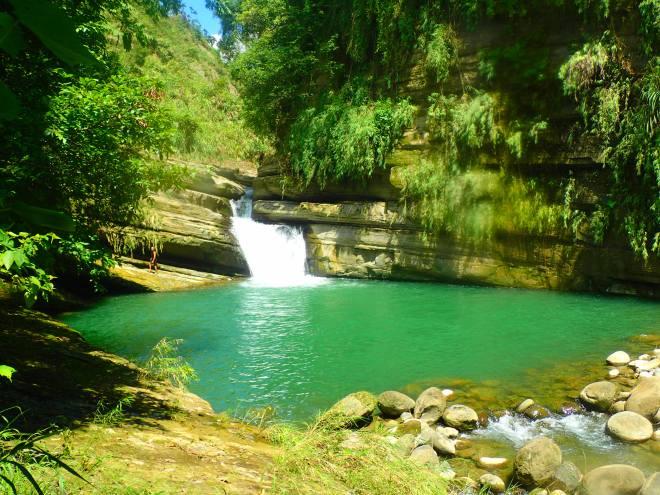 Waterfall near Ganlan Gorge, Chiayi County