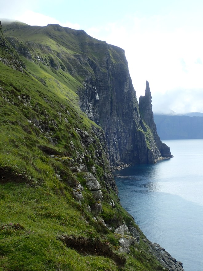 Incredible coastal scenery in the Faroe Islands