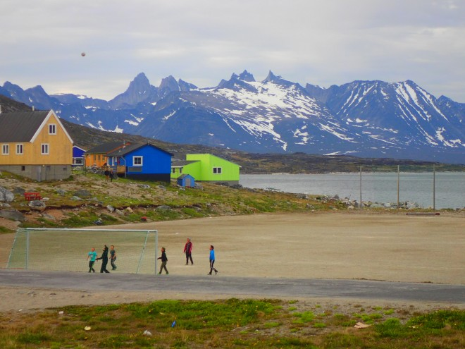 Remote and magnificent Nanortalik, in south Greenland