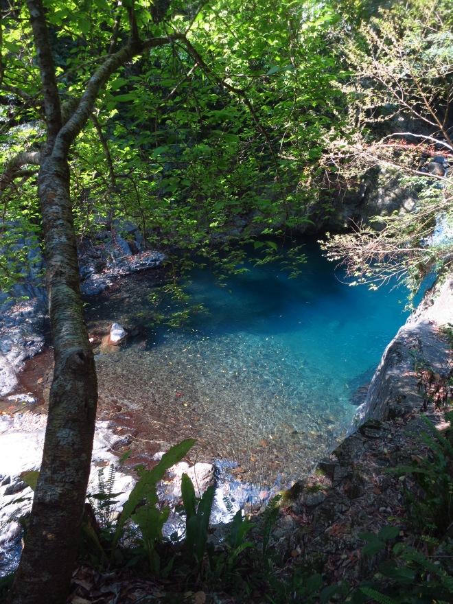 Pool near Xinxing Hot Springs