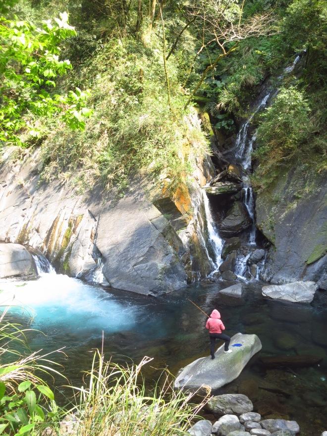The river at Sileng Hot Springs
