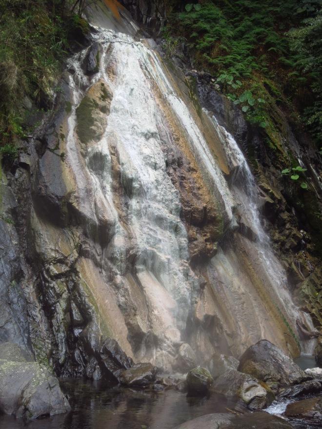 Sileng Hot Spring waterfall